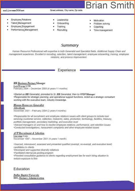hr resume word format 10 word 2016 resume templates budget template letter