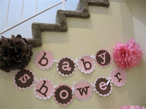 Handmade Baby Shower Banners - baby shower banner baby shower