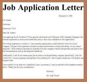 Letter sample is known to help you in writing your application letter