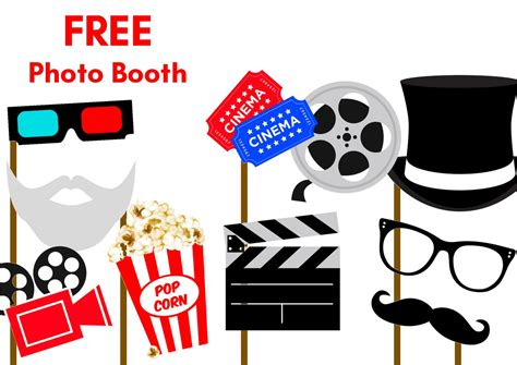 free printable photo booth props download 2 freebies archives birthday party ideas themes