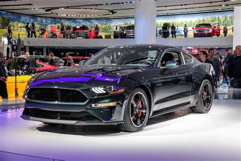 Auto Show by 2018 Detroit Auto Show Ford Mustang Bullitt