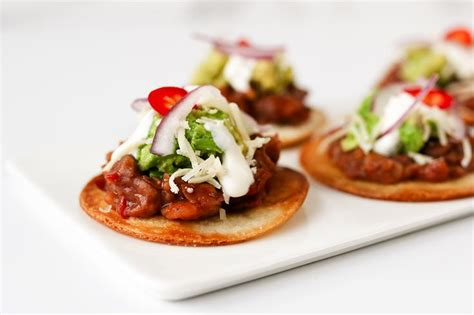 Wedding Appetizers On A Budget by Diy Mini Tostada Appetizers For Your Wedding On A Budget
