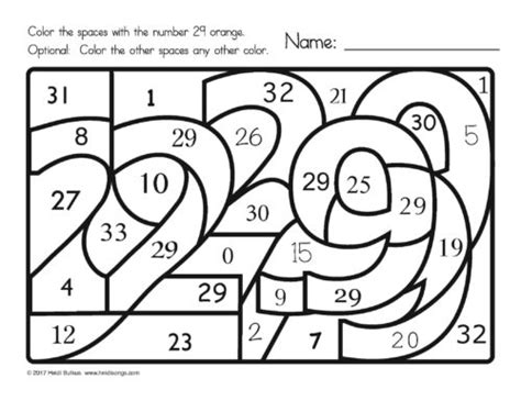 coloring pages numbers 1 30 new find the number 1 30 worksheets heidi songs