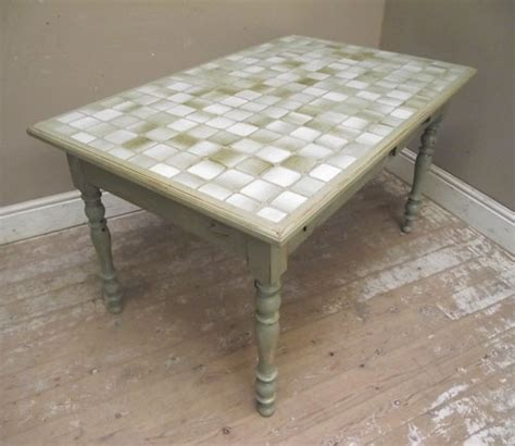 Tiled Kitchen Table Id2994 Tile Top Kitchen Table