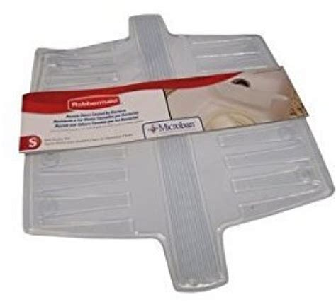 rubbermaid clear cover desk pad rubbermaid 1786631 antimicrobial divider protector