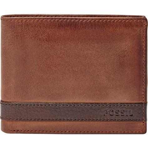 Dompet Fossil Set By Kedai Fossil fossil quinn bilfold flip id wallet wallets money