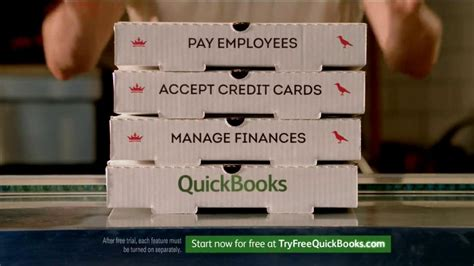quickbooks commercial actress intuit quickbooks tv commercial pizza guys ispot tv