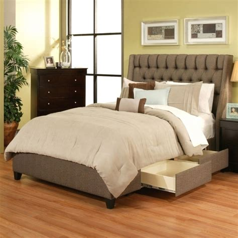queen platform bed with storage and headboard modern queen platform bed with storage drawers and