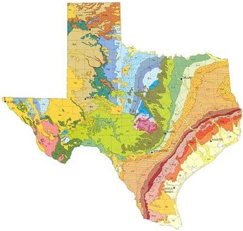topographical map texas real texas lifestyle