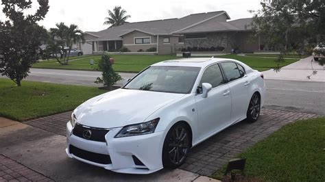 lexus gs350 f sport lowered modded 2014 gs 350 f sport on rsr super down club lexus