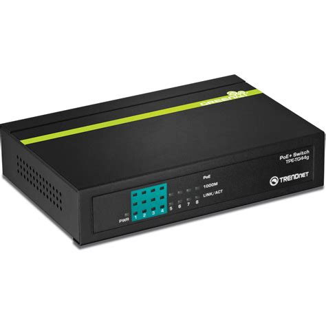 trendnet tpe tg44g 8 port gigabit greennet poe switch tpe tg44g