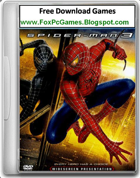 spiderman full version game download spiderman 3 pc game free download full version fox pc games