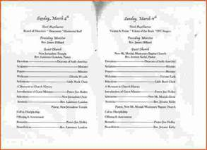 church anniversary program template 7 church anniversary program templatememo templates word