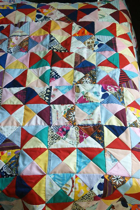 Triangle Patchwork - these are a few of my favorite things angie s studio