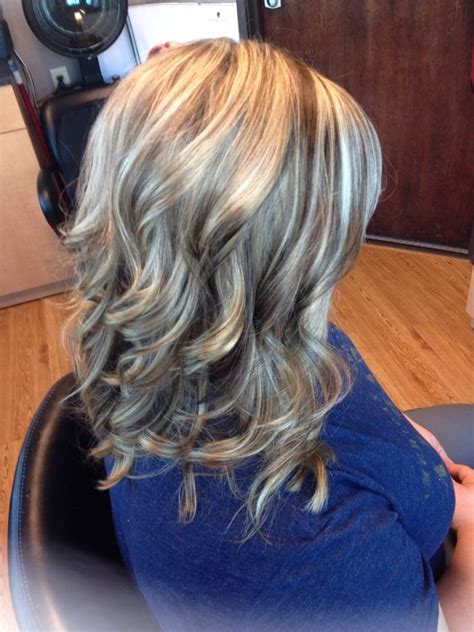 pictures of blonde highlights and lowlights curly blonde highlights brown lowlights curls hair by melissa