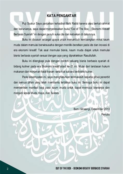 Buku Success Way Kiat Menjadi Kaya out of the box ekonomi kreatif berbasis syariah by syifamukrimaa