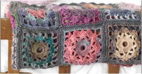 Crochet Patchwork - patchwork throw crochet stylesidea