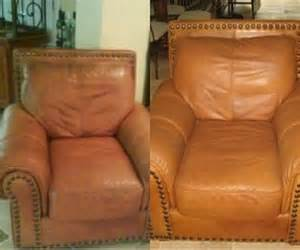 Paint On Leather Sofa All Furniture Services 174 Furniture Repair Restoration Before And After Picture Gallery