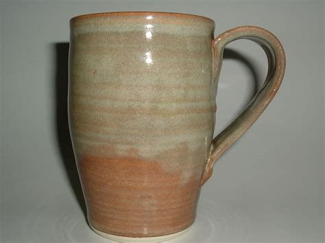 Handmade Mugs - unique coffee mugs handmade stoneware pottery large mug foggy