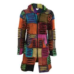 coat of many color coat of many colors hooded jacket the hunger site
