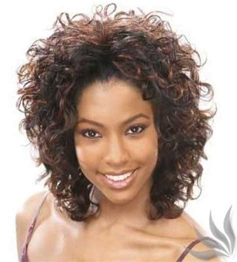 permanent curls for black hair 15 curly perms for short hair crazyforus
