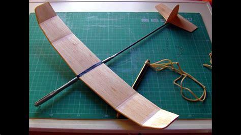 great catapult balsa glider youtube