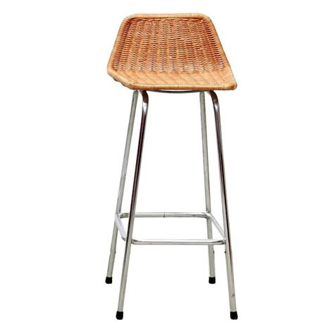 wicker bar stools one dirk sliedrecht wicker bar stool for rohe