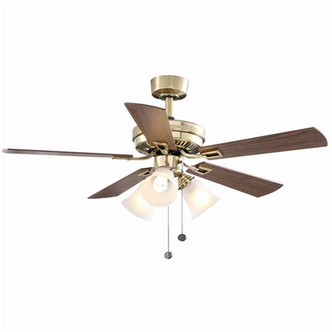 ceiling fan installation cost home depot hton bay sinclair 44 in indoor flemish brass ceiling