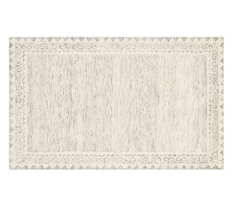 Pottery Barn Scroll Rug Scroll Border Rug Pottery Barn