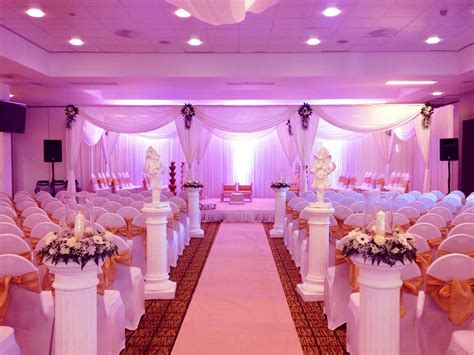 Wedding Decoration by Marvelous Purple Wedding Decoration All About Wedding