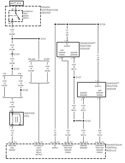 i need a engine wiring diagram for a 1997 jeep with