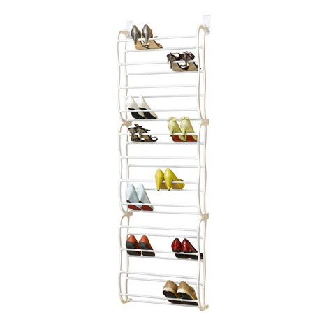 door hanging shoe organizer 36 pair over the door hanging shoe hook shelf rack holder