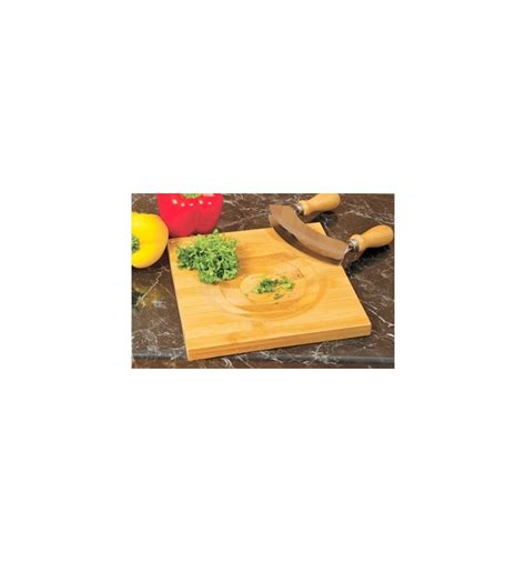 Herb Chopper And Board by Herb And Chopping Board Set