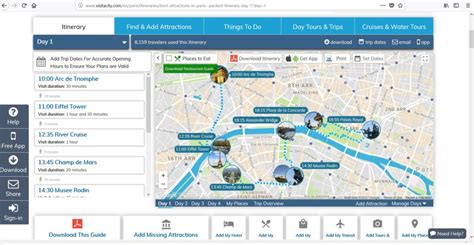 my all time favorite trip planning tool visit a city