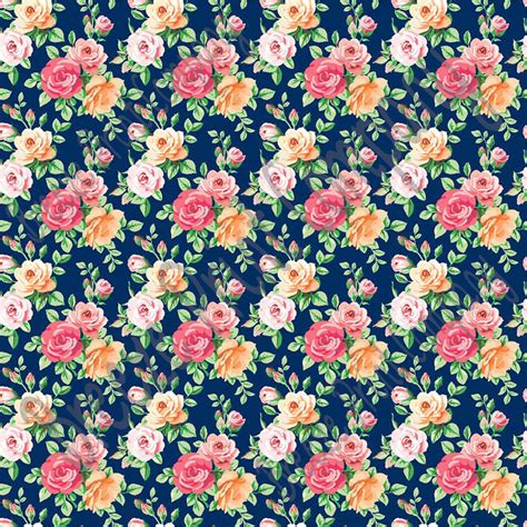flower pattern vinyl rose floral heat transfer or adhesive vinyl sheet with