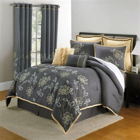 bedroom curtains and matching bedding yellow gray bedroom with matching bedding and curtain