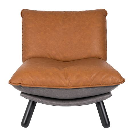 Vintage Accent Chair Lazy Accent Chair In Vintage Brown By Cuckooland Notonthehighstreet