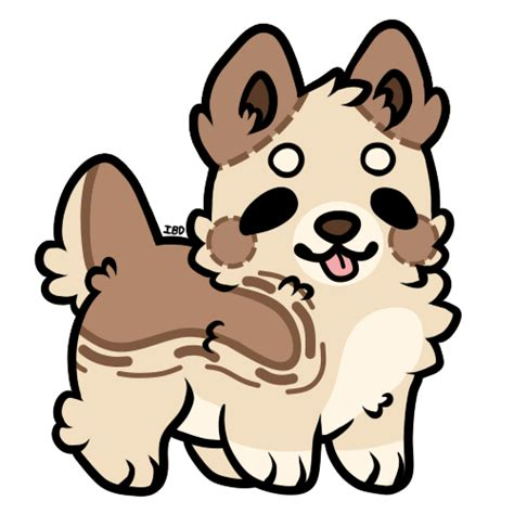 chibi puppy chibi auction closed by sammichpup on deviantart