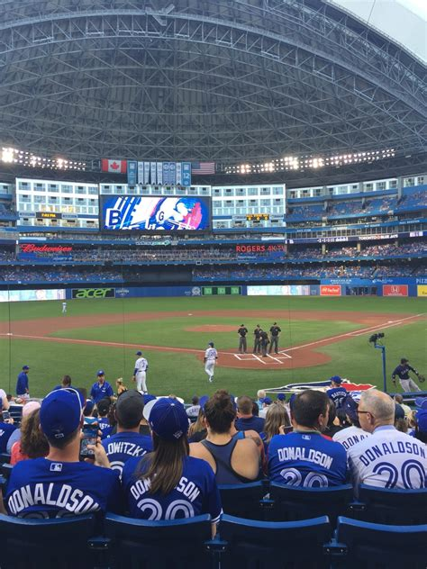 section 123 rogers centre rogers centre section 122 toronto blue jays