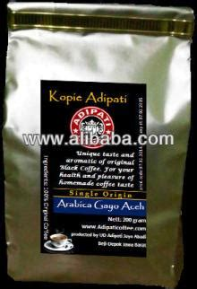 Kopi Gayo Luwak Liar Arabica Roasted 200gr green beans coffee luwak liar arabica gayo aceh civet coffee products indonesia green