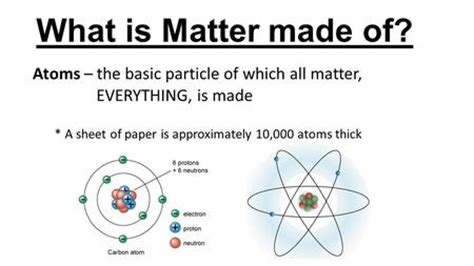 what is matter classifying matter ppt
