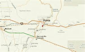map of arizona yuma yuma location guide