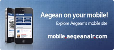 aegean check in mobile aegean airlines baggage allowance