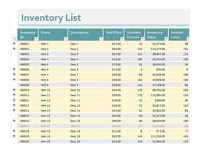 inventory excel sheet inventory excel sheets