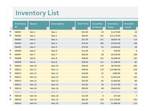 Inventory Excel Sheet   Inventory Excel Sheet Download