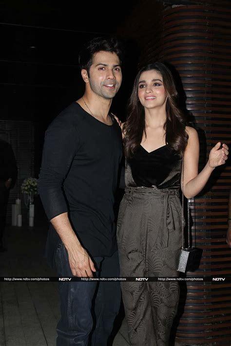 Varun Dhawan Partied With Natasha Dalal After Badrinath Ki ...