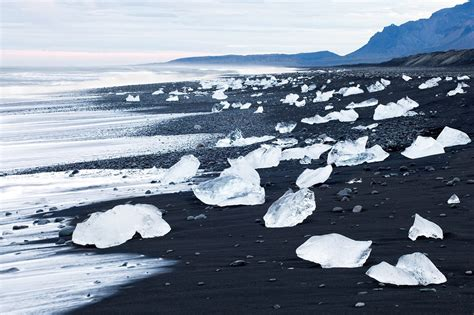 black sand beach iceland black sand beach iceland feel the planet