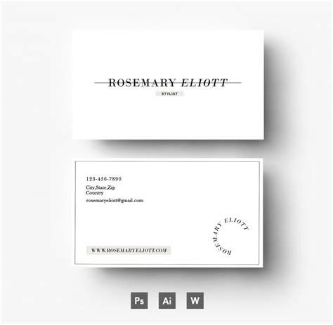 free business card design template photoshop business card templates for photoshop business card design