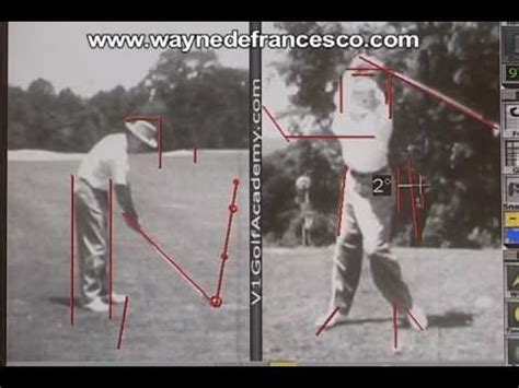 sam snead swing keys sam snead swing analysis youtube