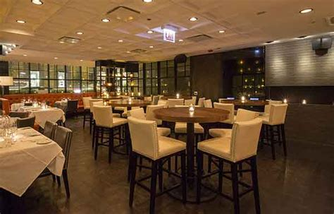 high tops bar chicago steak 48 dining room area next to bar high top seating in